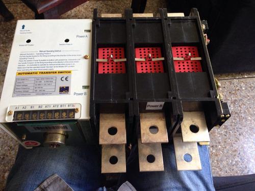 Modulo Tablero Transferencia Automatica 250amp Ats