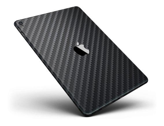 Skin Adesivo Fibra De Carbono Preto iPad Air 3 (2019)