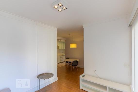 Apartamento No 7º Andar Com 1 Dormitório E 1 Garagem - Id: 892952156 - 252156