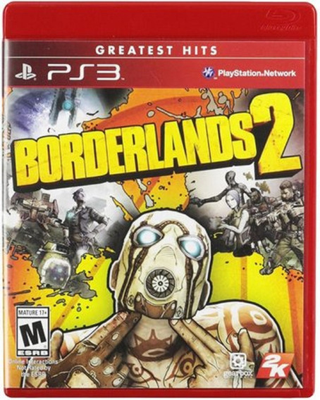 Borderlands 2 Ps3 Mídia Física Blu-ray Original Lacrado Novo
