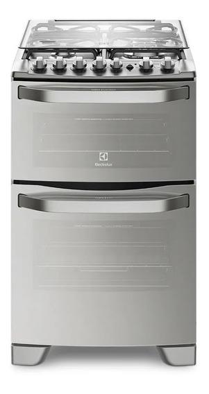 Cocina Doble Horno Sup/eléctrico Inf/gas Electrolux 56dax