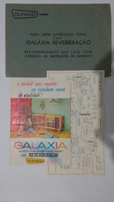 Manual Esquema Radiola Teleunião 1244sr Original Frete Gráti