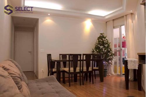 Apartamento Com 3 Dormitórios À Venda, 85 M² Por R$ 349.000 - Nova Petrópolis - São Bernardo Do Campo/sp - Ap0521