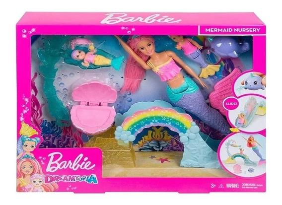Barbie Dreamtopia Escola De Sereias Fxt25 - Mattel