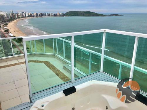 Imagem 1 de 30 de Cobertura Com 3 Quartos, 220 M² Venda Ou Aluguel - Praia Do Morro - Guarapari/es - Co0148