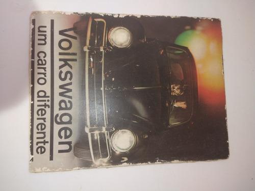 Vw Fusca - Catálogo De Lançamento Original
