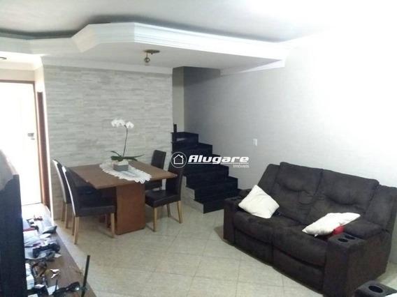 Sobrado Com 2 Dormitórios À Venda, 125 M² Por R$ 400.000 - Jardim Vila Galvão - Guarulhos/sp - So0598