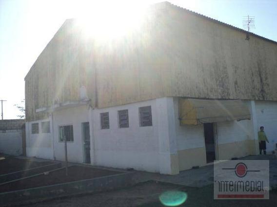 Galpão Industrial Para Venda E Locação, Capoava, Iperó. - Ga0087