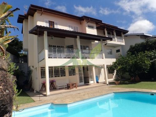 Linda Casa Em Atibaia Na Vila Gardênia 522m² - 1038