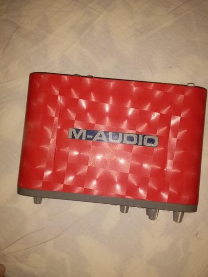 Placa Áudio Fast Track Pro