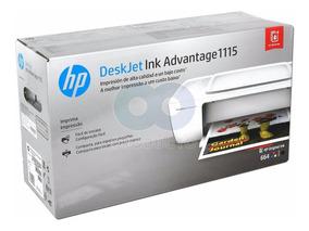 Impressora Hp Deskjet Ink Advantage 1115 Jato Tinta Colorida