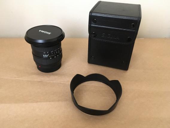 Lente Sigma 18-35mm F/3.5-4.5 Aspherical Af Sony A-mount