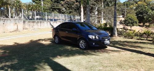 Chevrolet Sonic 1.6 16v Ltz 4p Top De Linha!! Preto!! Sedan!