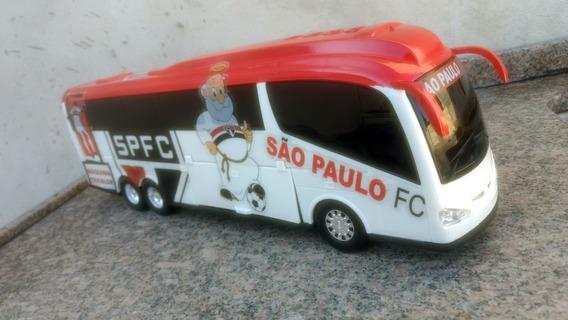 Miniatura Ônibus Time São Paulo
