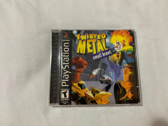 Twisted Metal Small Brawl Ps1 Original Americano