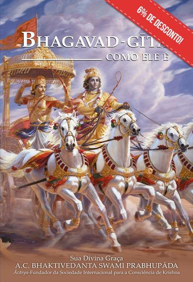 Bhagavad-gita Como Ele É (nova Edição) + 1 Postal Grátis