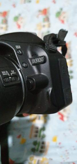 Nikon 3100 Com 02 Lentes. Uma Lente É Uma Dx