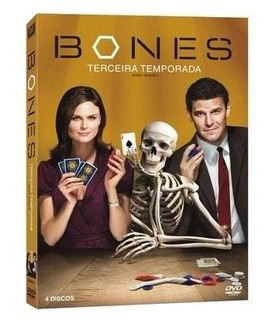 Box Dvd Bones 3 Temporada (4 Dvd