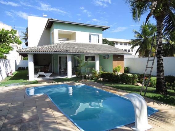 Casa Em Condomínio Com 6 Quartos Para Comprar No Barra Do Jacuípe Em Camaçari/ba - 478