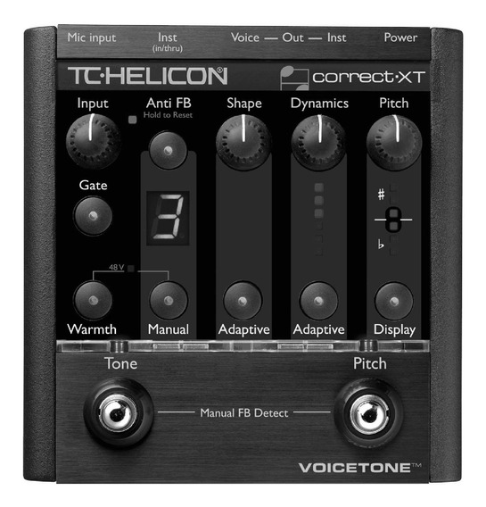 Voicetone Corretor Automático Cromático De Voz Tc Helicon