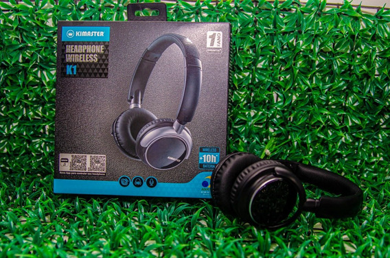 Fone Headphone BluetoothKimaster K1/ Kb1 Fm CartãoOriginal