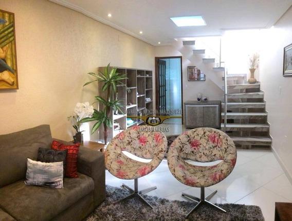 Sobrado Com 3 Dormitórios À Venda, 125 M² Por R$ 655.000,00 - Jardim Vila Formosa - São Paulo/sp - So1077