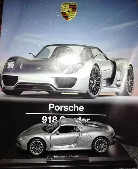 Deportivos De Leyenda. Porsche 918 Spyder Escala 1/38