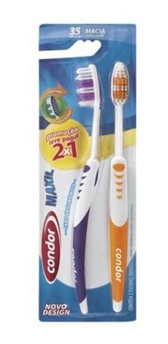 Condor Maxil Escova Dental C/2