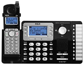 Rca Rca-25252_ _ _ _ _ _ _ _ _ _ Dect 6.01-handset 2-line