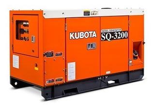 Grupo Electrógeno Kubota Sq 3200 /20 Kva /trif /cab Oferta!