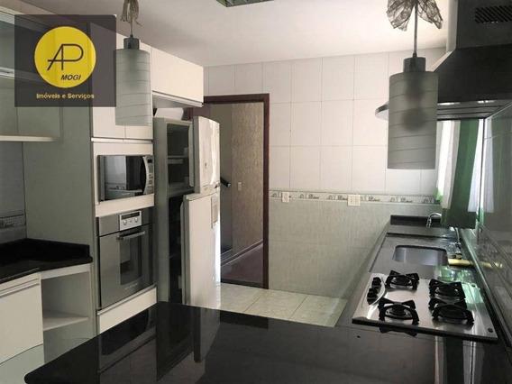 Sobrado Com 3 Dormitórios Para Alugar, 128 M² - Parque Santana - Mogi Das Cruzes/sp - So0154