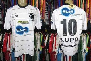 Abc 2011 Camisa Titular Tamanho Eg Número 10.