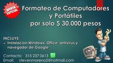 Formateo E Instalación De Windows. Instalacion De Programas