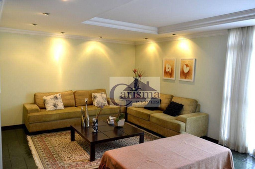 Imagem 1 de 30 de Apartamento Com 4 Dormitórios Sendo 1 Suíte À Venda, 176 M² - Vila Bastos - Santo André/sp - Ap3921