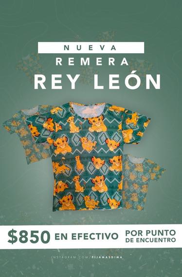 Remera - Rey León