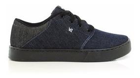 Tênis Vanscy Black Free Street V1230 Casual Skate Jeans