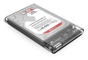 Case Para Hd Notebook Ssd Usb3.0 Orico Transparente Original