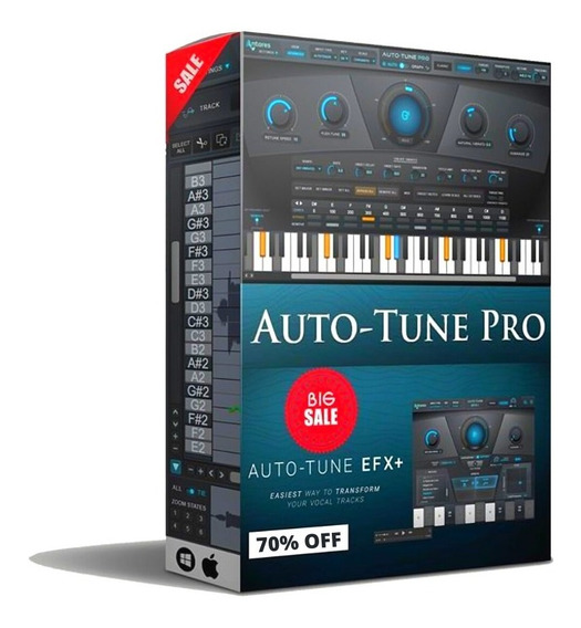 Auto-tune Pro Perpetual Licence (envio Na Sua Conta Antares)