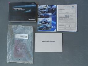 Manual Do Proprietário Hyundai Elantra Gls 2012 Original Kit