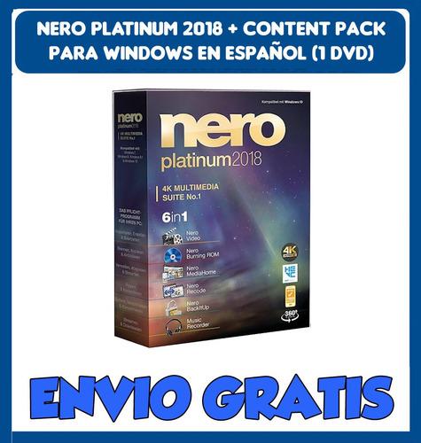 Nero 2018 Content Pack