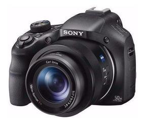 Câmera Sony Hx400 Hx400v 20.4mp Gps+32gb Cl10+bolsa+tripé Sj