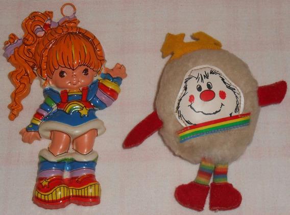 Rainbow Brite Boneca Enfeite Aniversário + Twink De Pelúcia