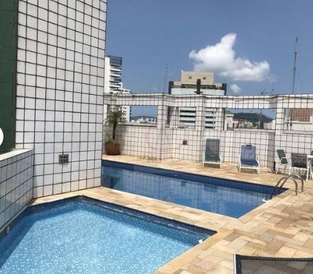 Apartamento Com 3 Dormitórios, 1 Suite, 2 Vagas, Lazer, Para Alugar, 130 M² Por R$ 4.500/mês - Gonzaga - Santos/sp - Ap9932
