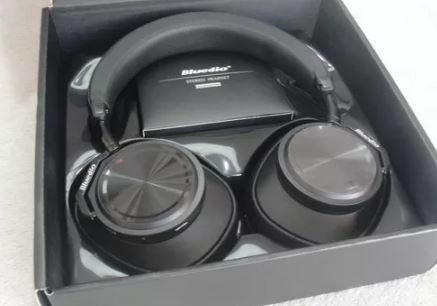 Fone Ouvido Bluedio T6s Cancelamento Ruído Bluetooth