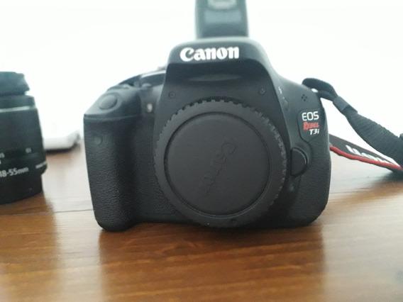 Câmera Fotografica Canon T3i + Acessórios