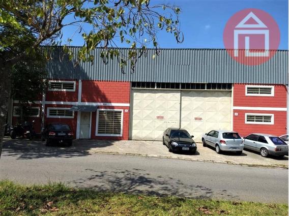 Barracão Para Alugar, 600 M² Por R$ 6.388/mês - Aparecida - Bragança Paulista/sp - Ba0140