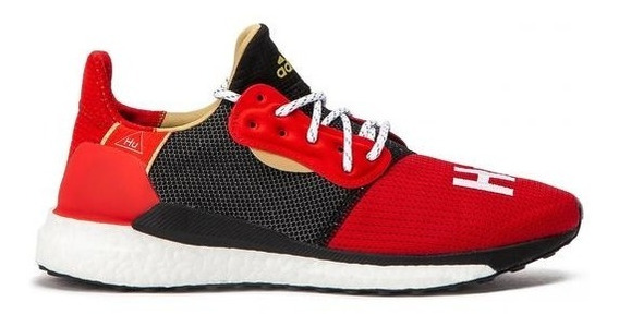 Tênis adidas Solar Hu Cny Ano Novo Chines Pharrell Williams
