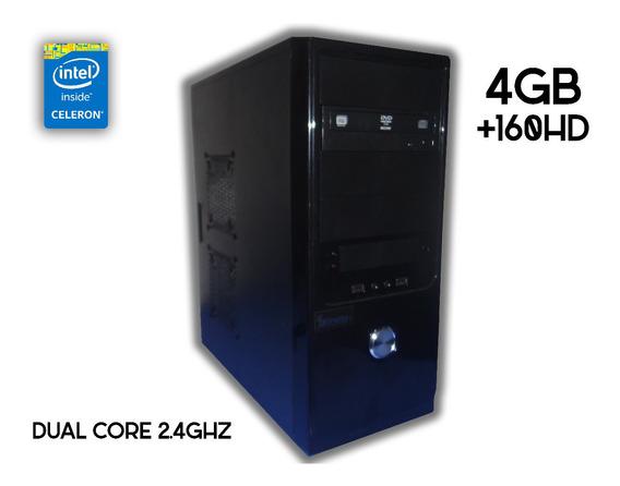 Pc 4gb+160hd Intel Dual Core Workstation