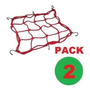 Pulpo Elastico Pack 2 Amarre En Malla Para Moto Impowick