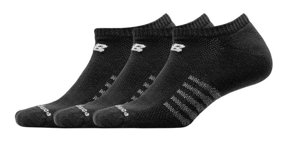 New Balance Soquetes No Show Pack X 3 Large (8002)